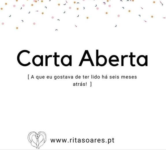 """""""Carta aberta"""" por Doula Rita Soares - Yes Mom You Can"""
